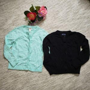 Two cardigan sweaters